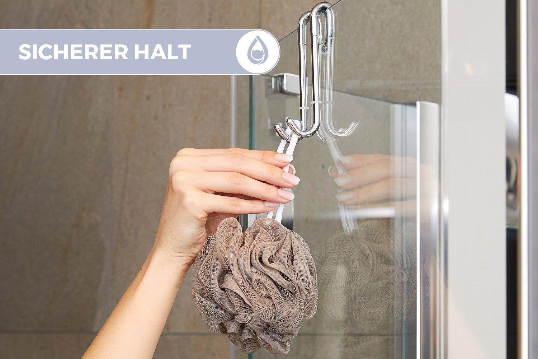 Ganci doccia bamodi per box doccia e vasca da bagno gancio doccia