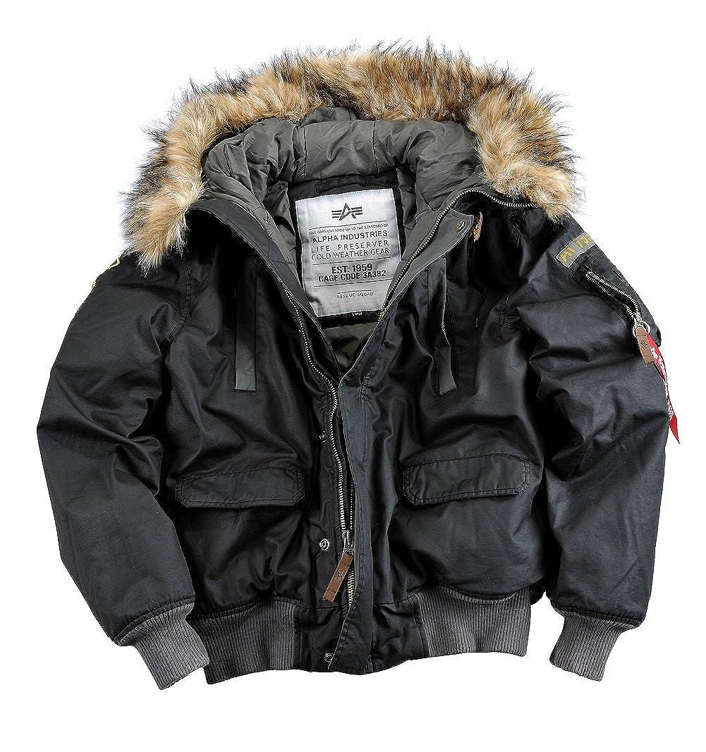 Alpha Industries, giacca invernale da montagna, da uomo