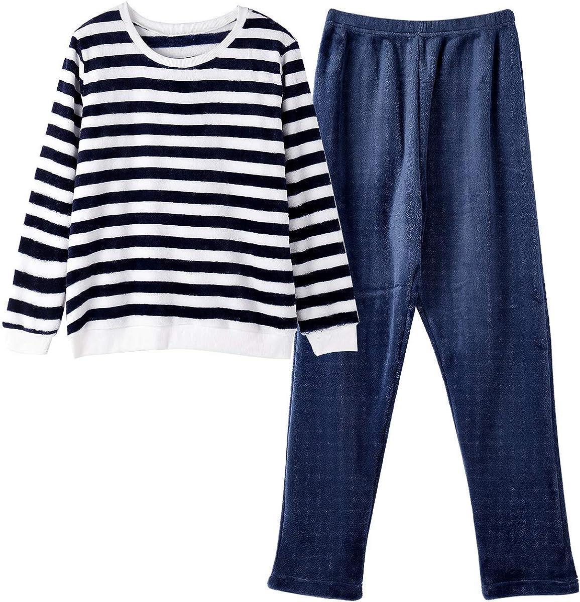 GOSO Pijama para niñas 8 9 10 11 12 13 14 años de Invierno cálido Pijama para niñas Adolescentes Tops y Pantalones Largos Big Girl Sleepwear: Amazon.es: Ropa y accesorios