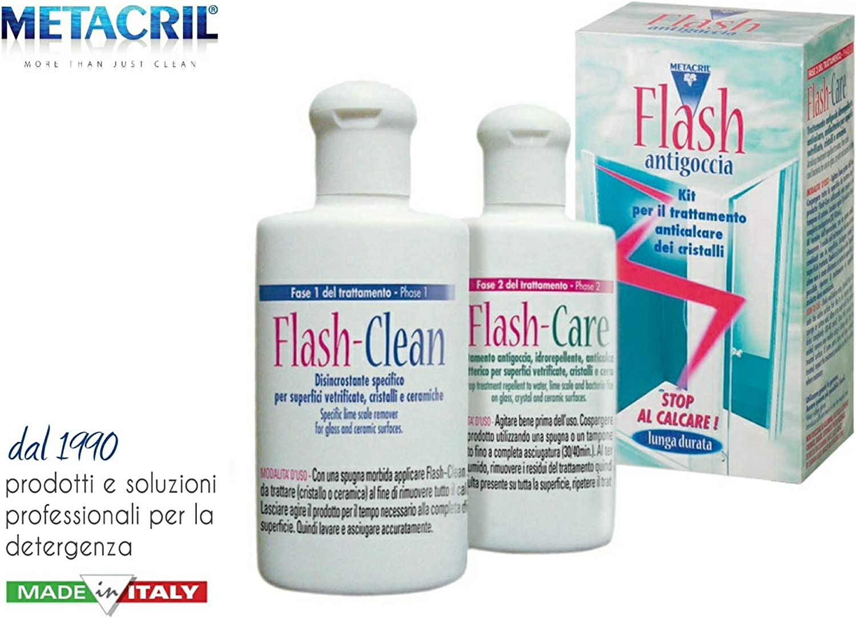 Limpieza y Tratamiento antical impermeable de larga duración para cristales – Flash de goteo Kit – Envío immediata: Amazon.es: Hogar
