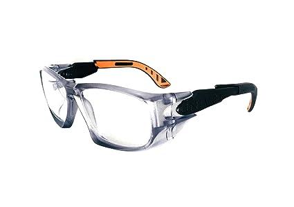 05b3037330c41 Armação Óculos Segurança Para Lentes De Grau UNIVET 5X9L  Amazon.com ...