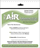 MyAir Comfort Mask Replacement Filters - 10 Pack - Made in USA