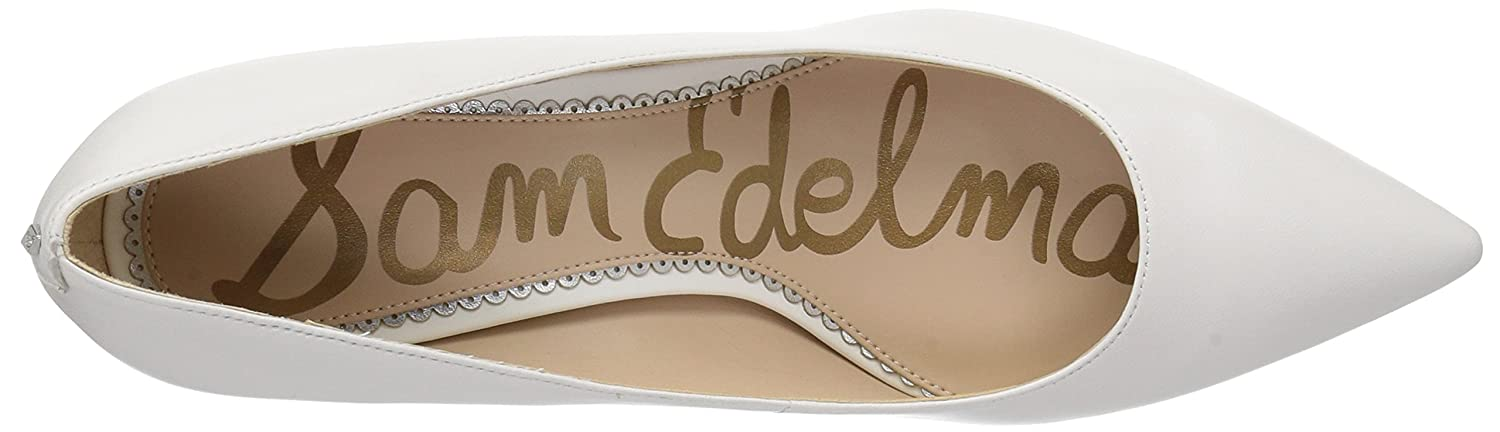 Sam Edelman Women's Dori Pump B07BRCZPJQ 9.5 B(M) US|Bright White Leather