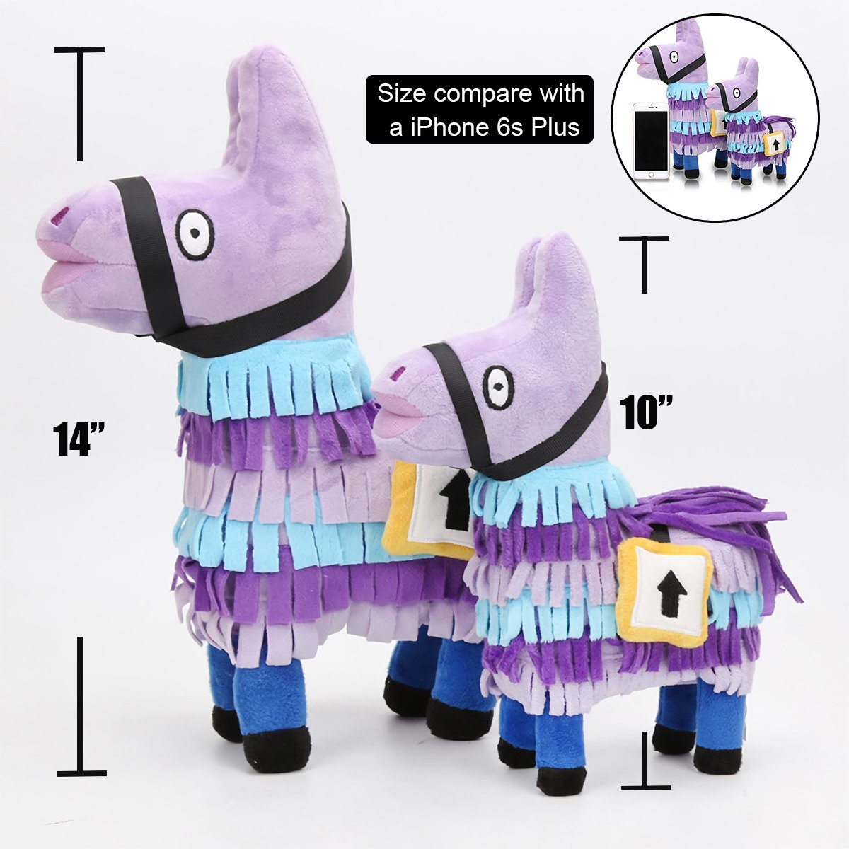 fortnite llama plush figure 14 video game fortnite troll stash llama stuffed toy 14 inch tall mvpstore - fortnite llama cuddly toy