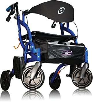 Amazon.com: Airgo Fusion Duo Walker & Transporte Silla ...