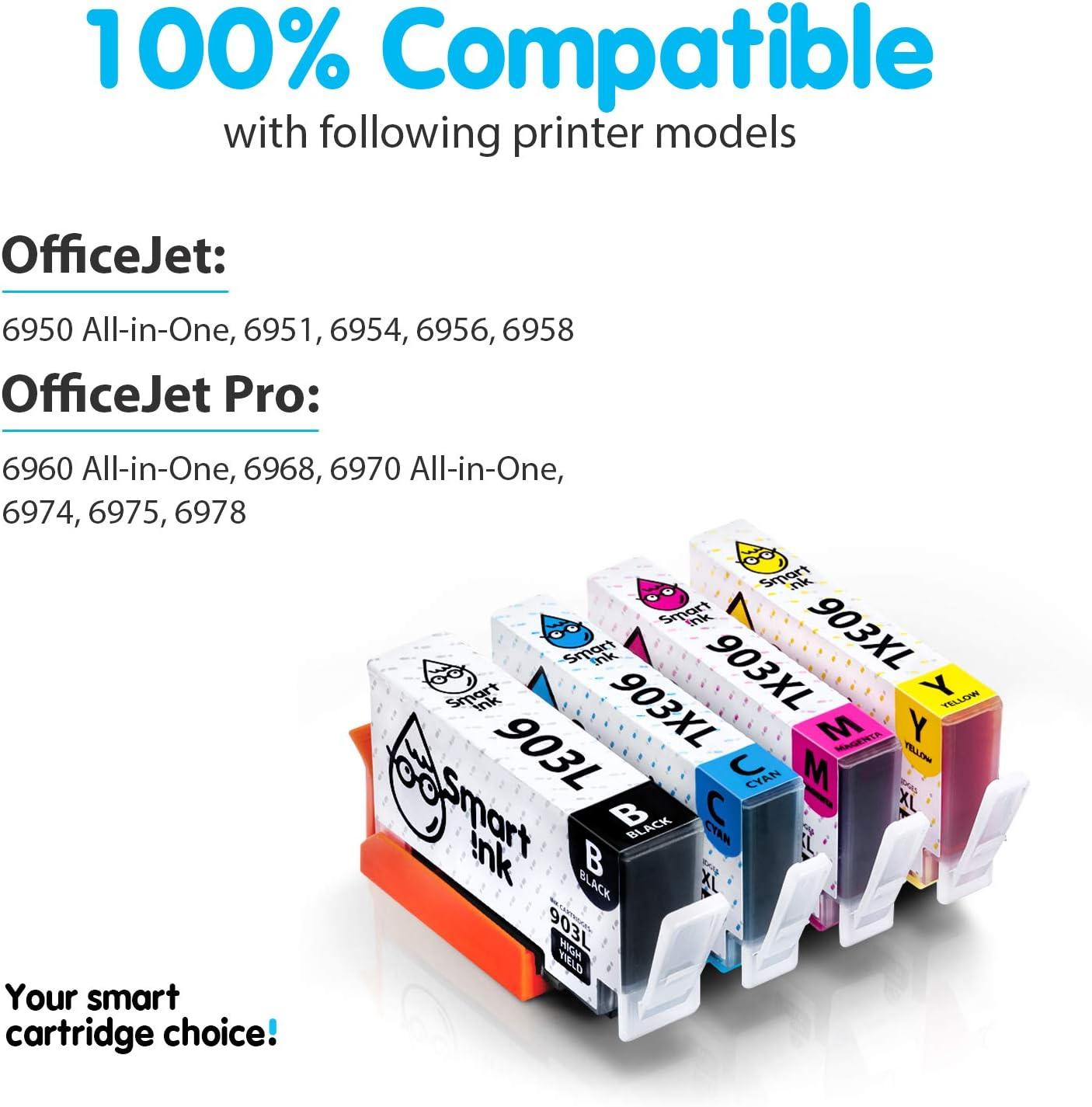 Smart Ink Reemplazo Compatible del Cartucho de Tinta HP 903 XL ...