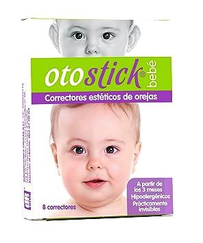 6b1bfe09fb1 Otostick Bebé Lot de 8 correcteurs esthétiques avec bonnet pour oreilles  décollées  Amazon.fr  HygiÚne et Soins du corps