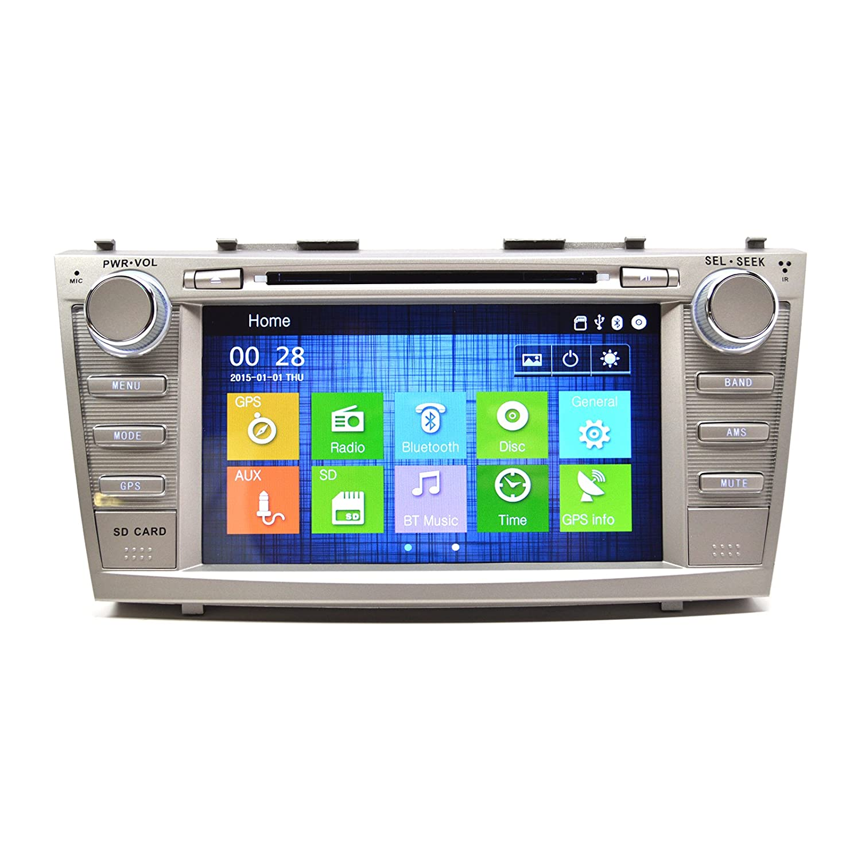 Amazon.com: OTTONAVI Toyota Camry 07-11 In Dash Double Din Touch Screen GPS  Navigation Radio: Car Electronics