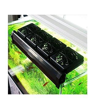 TradeShopTraesio® - Ventilador de refrigeración FS604 para acuario ...