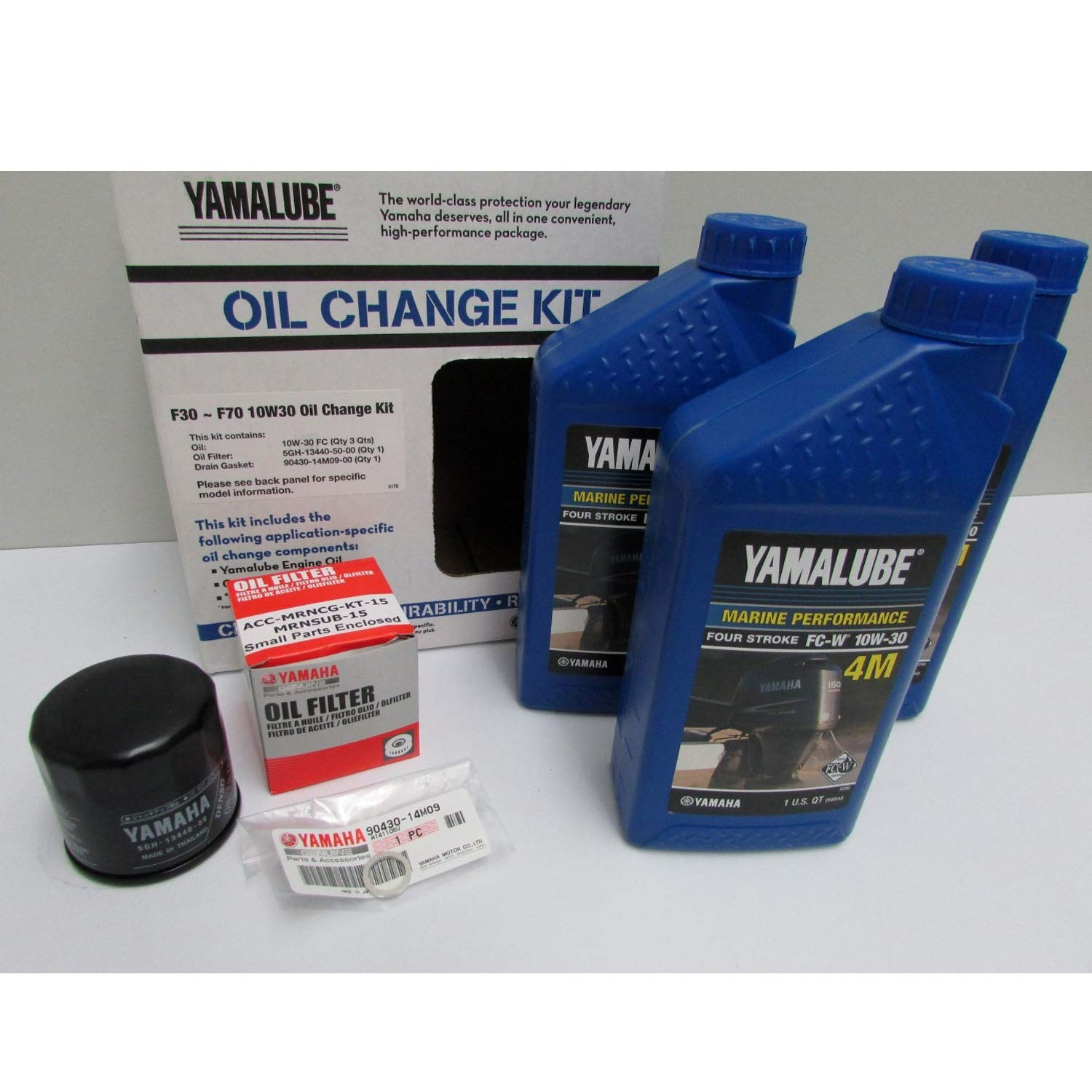 Yamalube-F30 ~ F70 Outboard Oil Change Kit  by YAMAHA