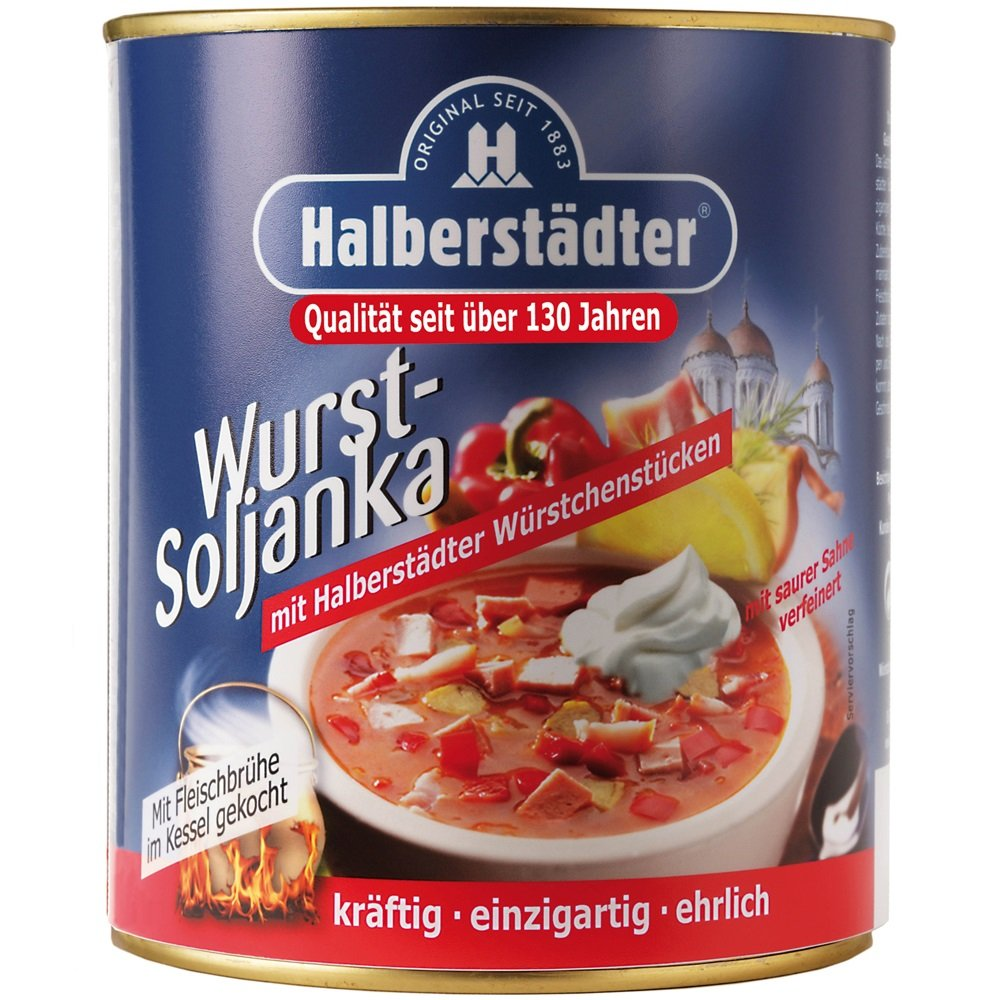 Halberst�dter Wurst Soljanka