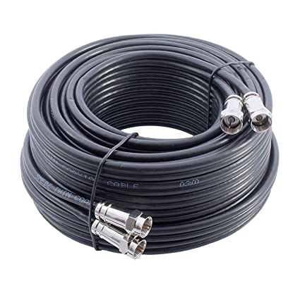 Mast Digital YCAB03I1A - 15m Extensión Cable coaxial twin ideal para Satélite TV, Cable Coaxial