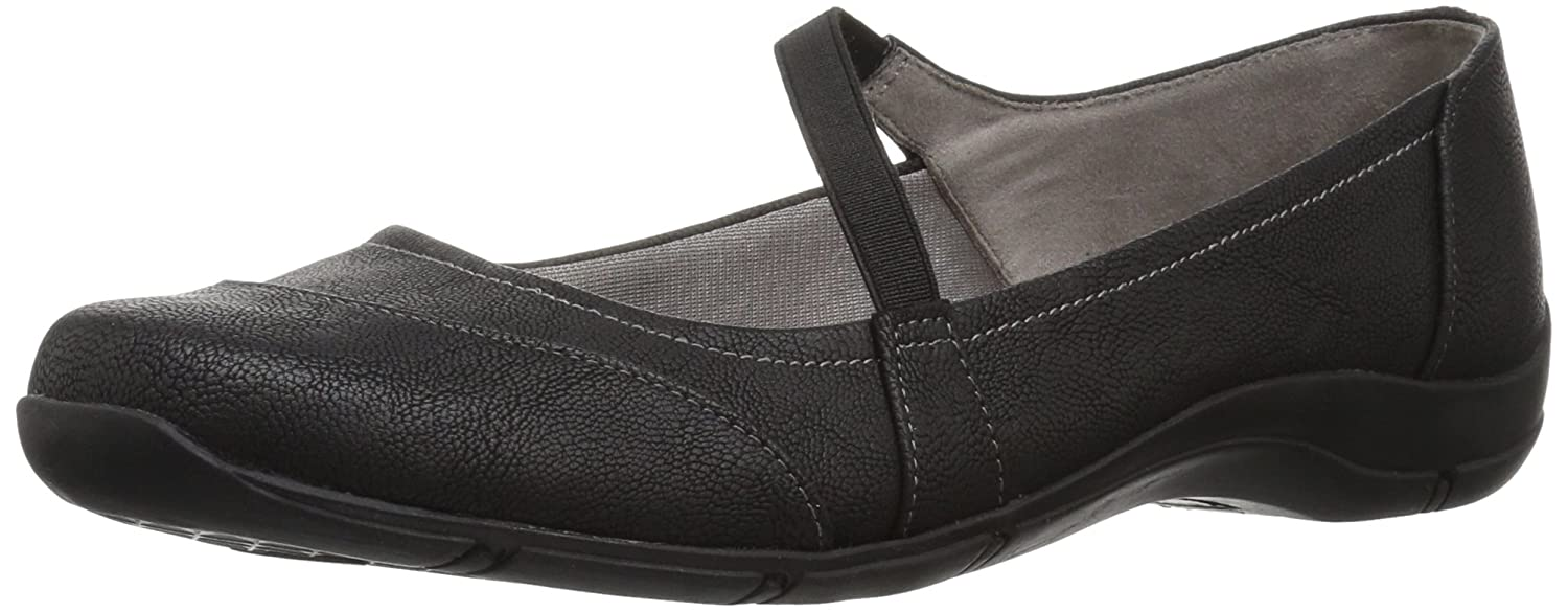 LifeStride Women's Denver Flat B07323YJQD 8 B(M) US|Black