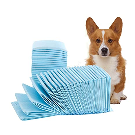 shanzhizui Almohadilla de orina para Perros Nappy Paper 100 tabletas Desodorización Espesar Pañales para Gatos Niaodian