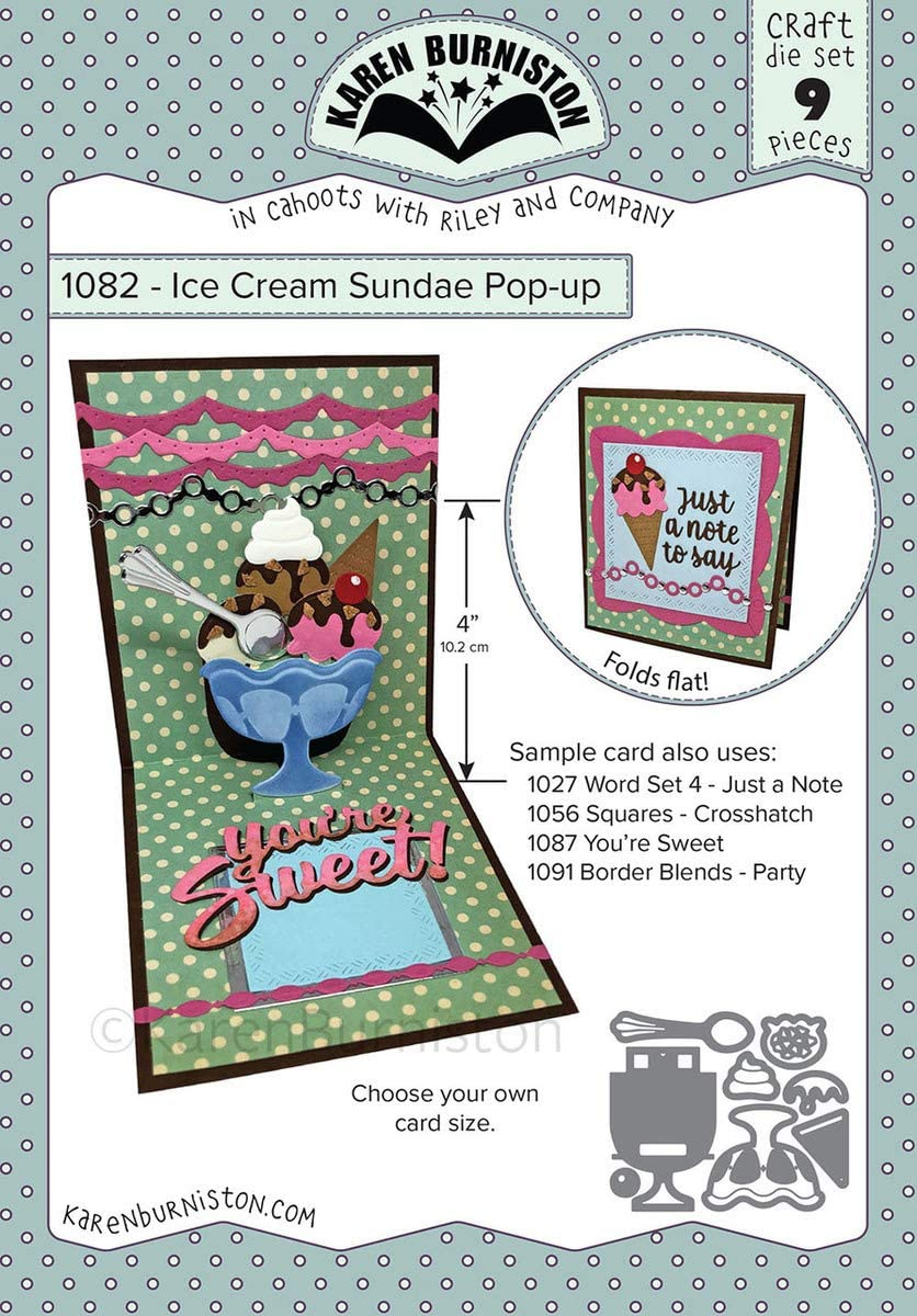 KB Riley Karen Burniston Dies-Ice Cream Sundae Po-Up