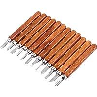 12 piezas para tallar madera hecho a mano