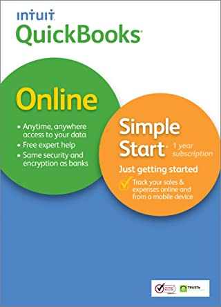 Amazon com: QuickBooks Online Simple Start for Mac [Old