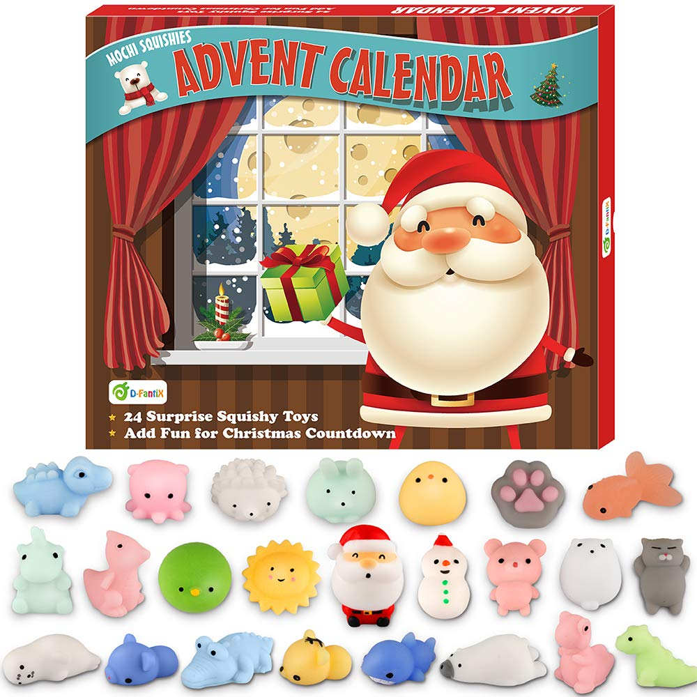 D-FantiX Mochi Squishy Toys Advent Calendar