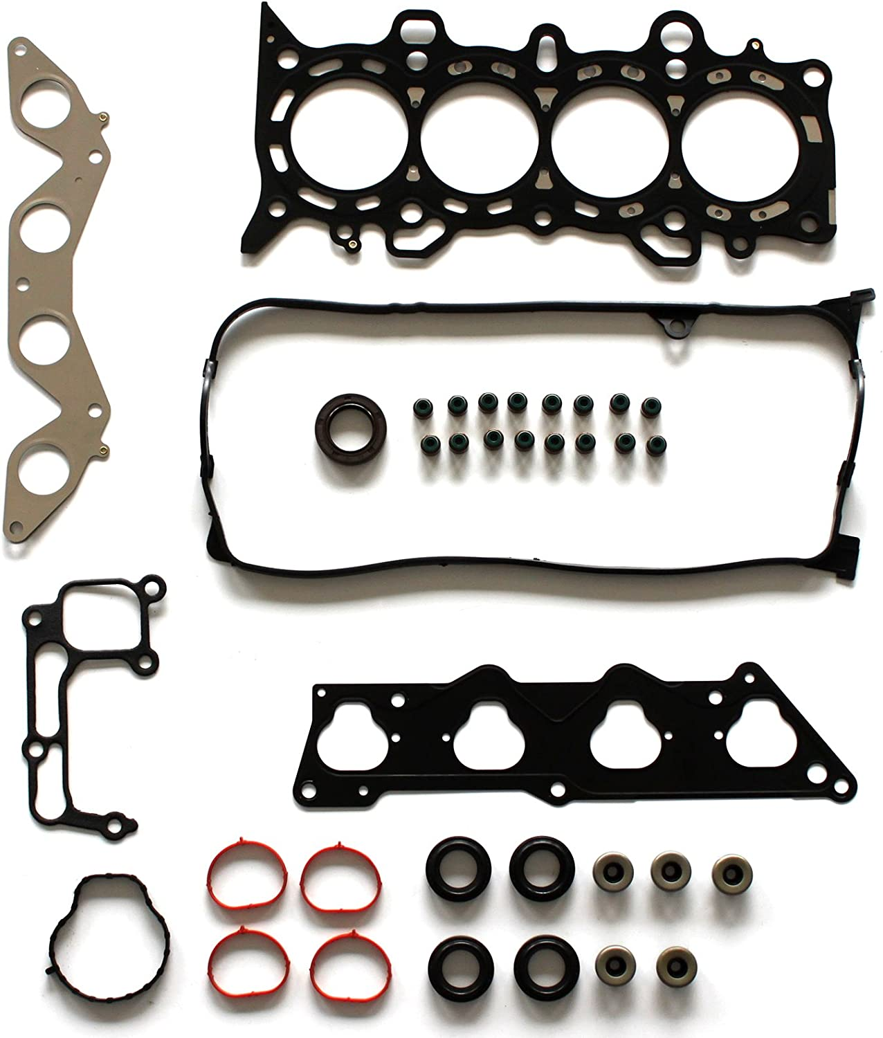 SCITOO Replacement for Cylinder Head Gasket Set Fit Honda Civic EX HX 1.7L D17A2 D17A6 2001-2005 Engine Head Gaskets Kit Set