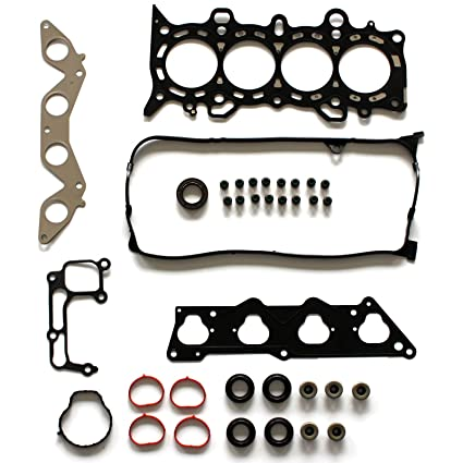 SCITOO Replacement for Cylinder Head Gasket Set Fit Honda Civic EX HX 1 7L  D17A2 D17A6 2001-2005 Engine Head Gaskets Kit Set