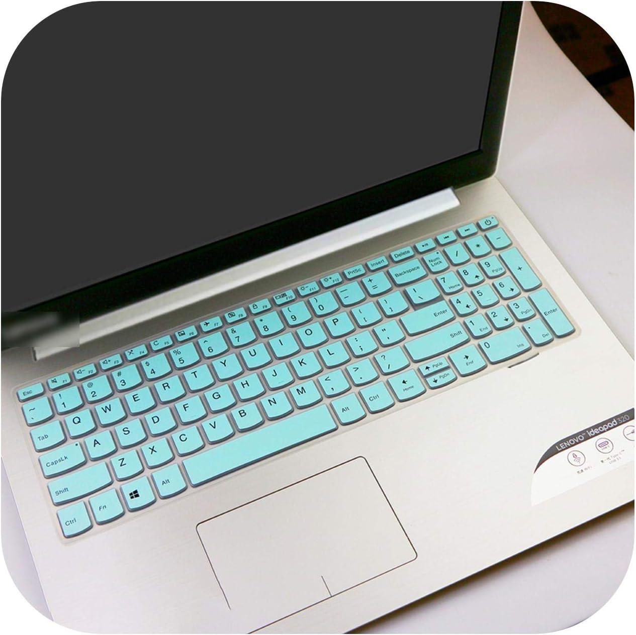 for Lenovo Ideapad V130 V130 15Igm V130 15Ikb V730 520 15Ikb Flex 5 15.6 15 15.6 Inch Laptop Keyboard Cover Skin Protector-Fadeblue