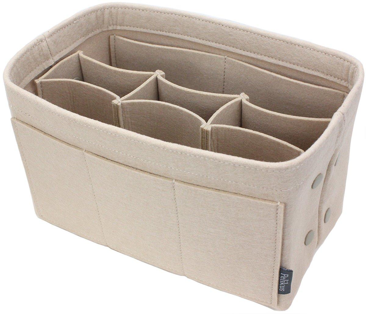 Pelikus Felt Purse \u0026 Tote Organizer Insert/Multi-Pocket Handbag Shaper