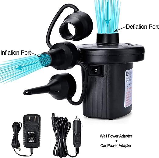Amazon.com: TMANGO Bomba de aire eléctrica, bomba de aire ...