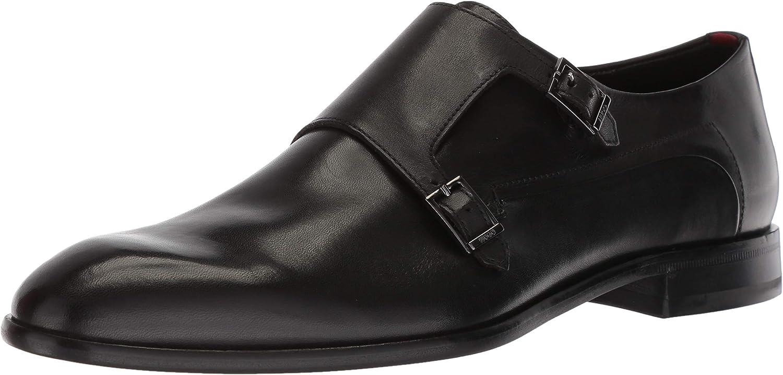 HUGO by Hugo Boss Mens Appearl Double Monk Dress Shoe Strap Loafer