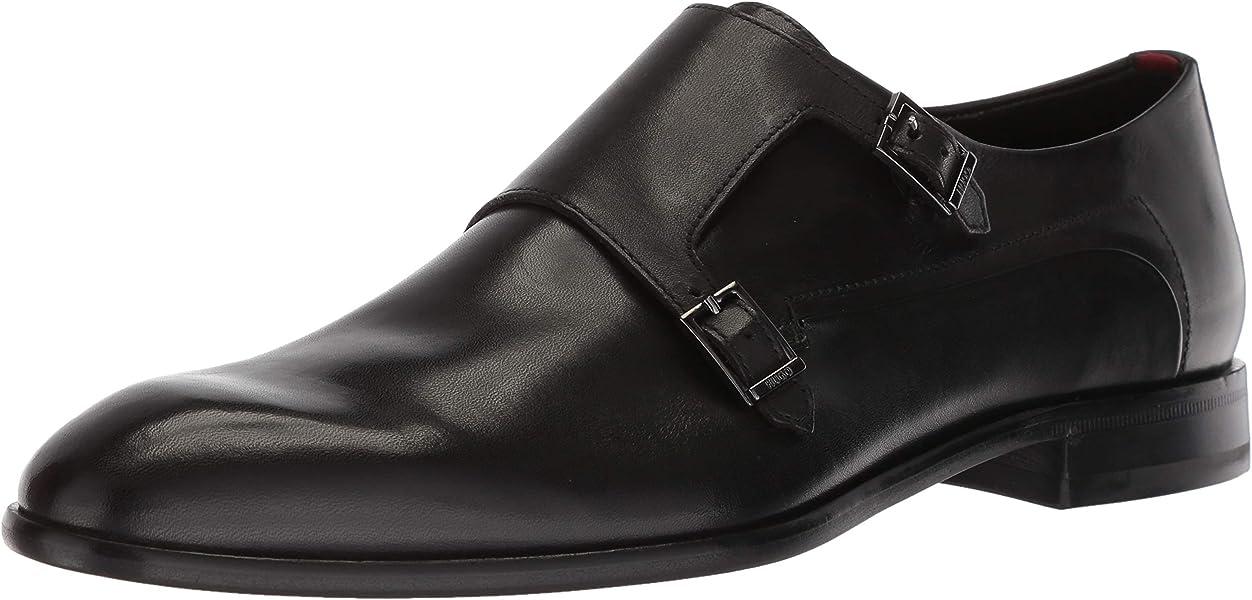 17ee349e576f HUGO by Hugo Boss Men s Appearl Double Monk Dress Shoe Strap Loafer