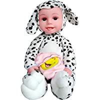 SHINETOY™ Musical LOL (Laugh Out Loud) Realistic Baby Toy with Moving and Arms, Plush Doll Animated Talking Singing Toy, Assorted Colour