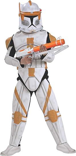 Star Wars Clone Trooper Cody Deluxe Costume - Child (disfraz ...
