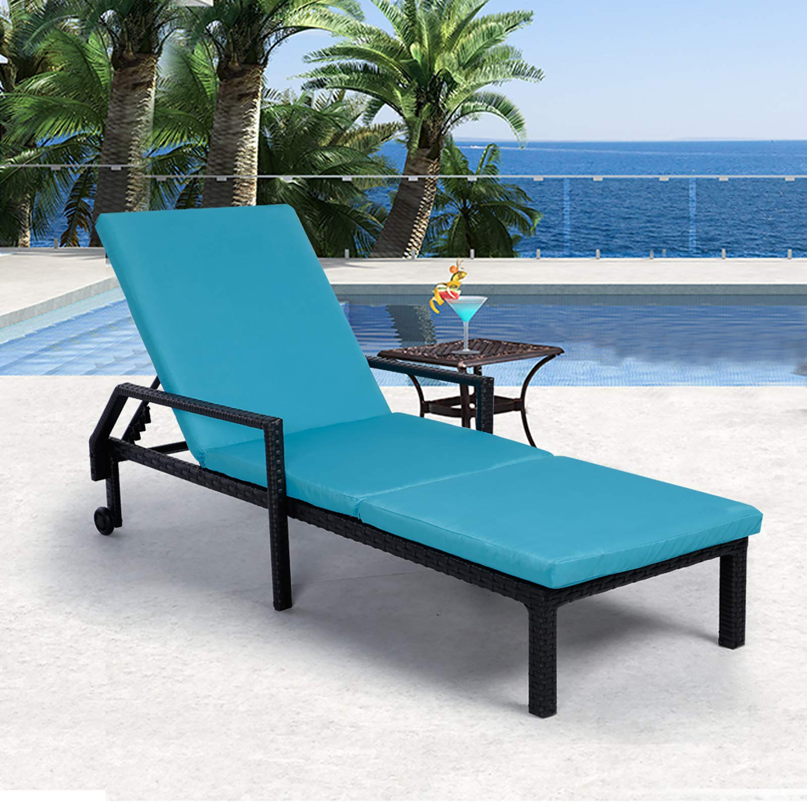 aecojoy adjustable outdoor chaise