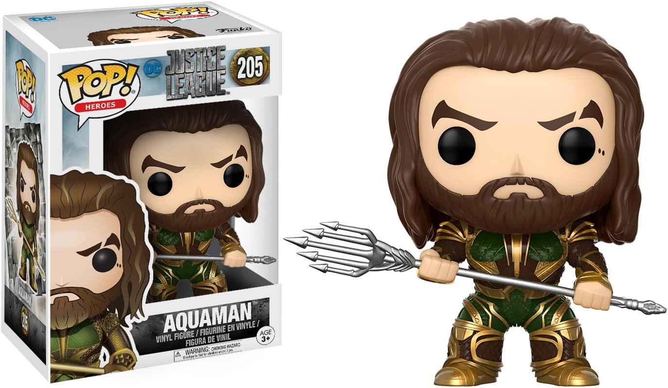 Funko - Pop! Vinilo Colección DC - Figura Aquaman (13486): Amazon.es: Juguetes y juegos