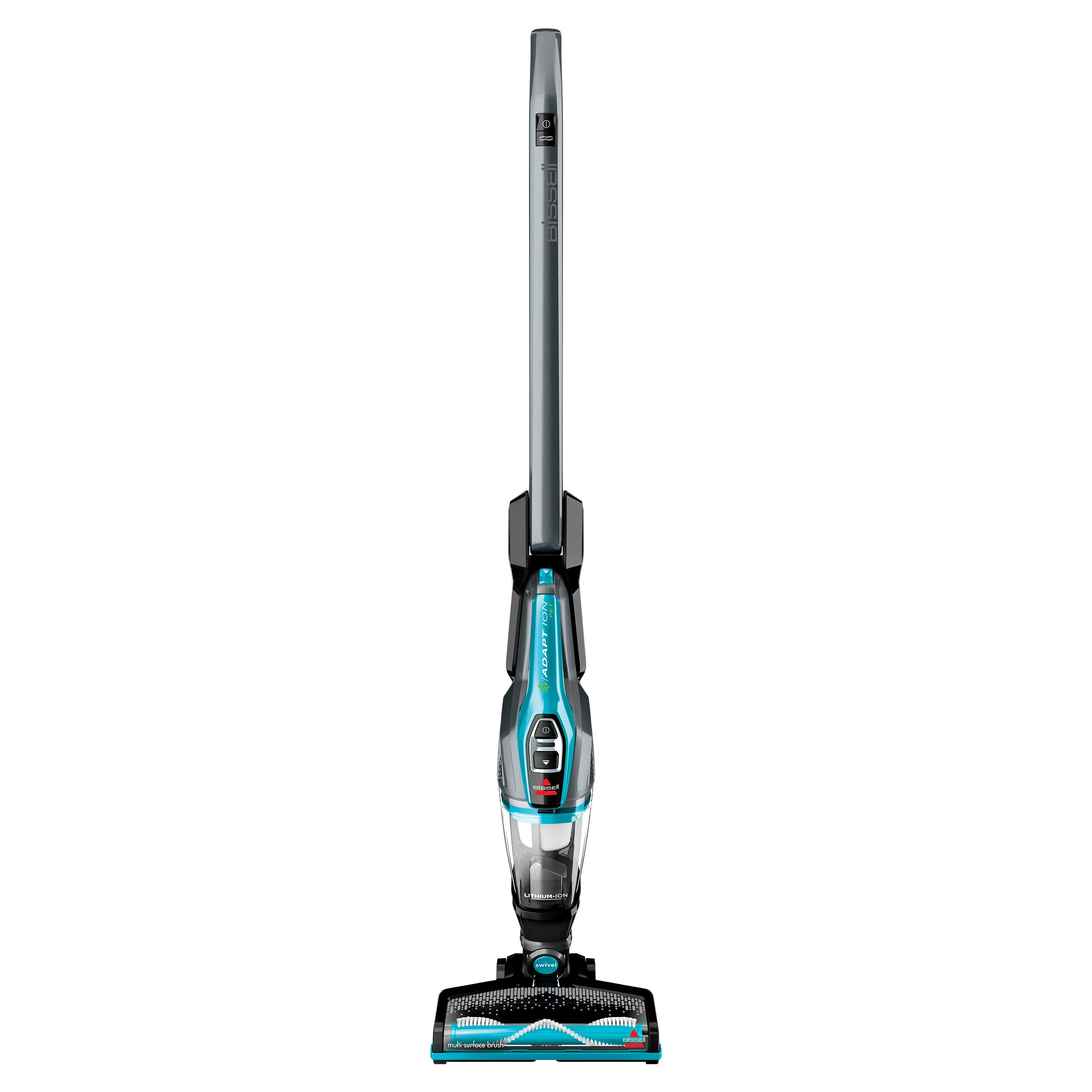 BISSELL Adapt Ion Pet 10.8V Lithium Ion 2 in 1 Cordless Stick Vacuum, Teal, 2286A by Bissell