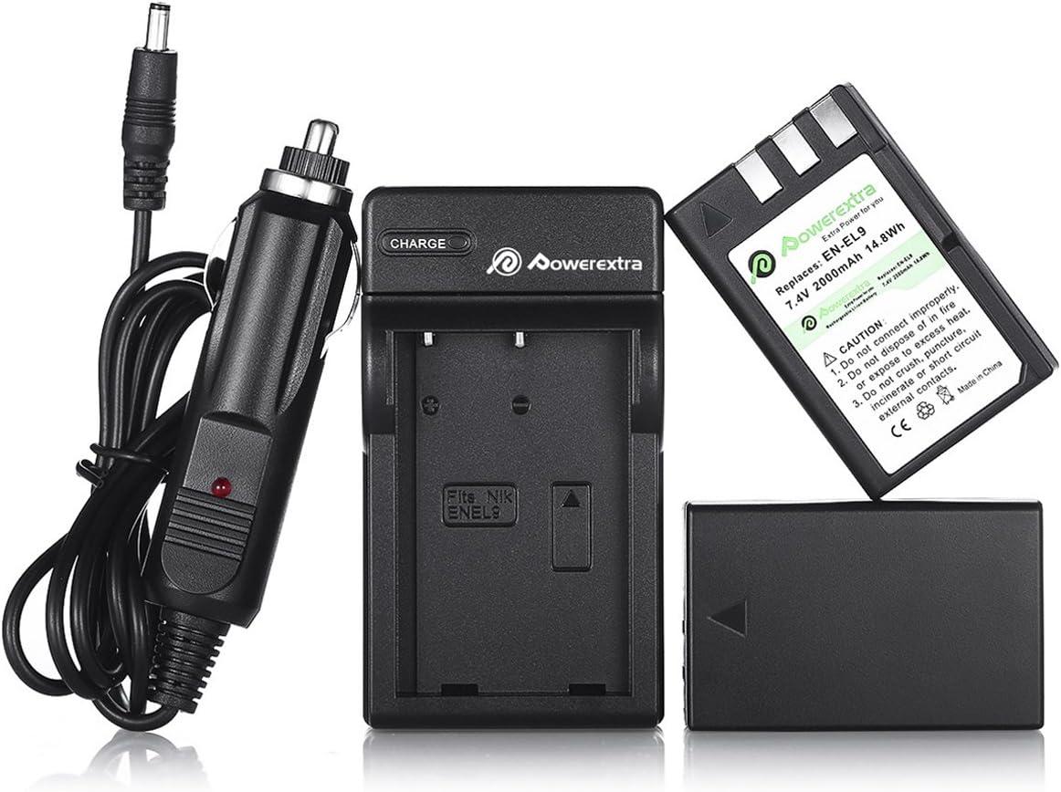 Amazon.com: Powerextra 2 Pack batería de litio de repuesto ...