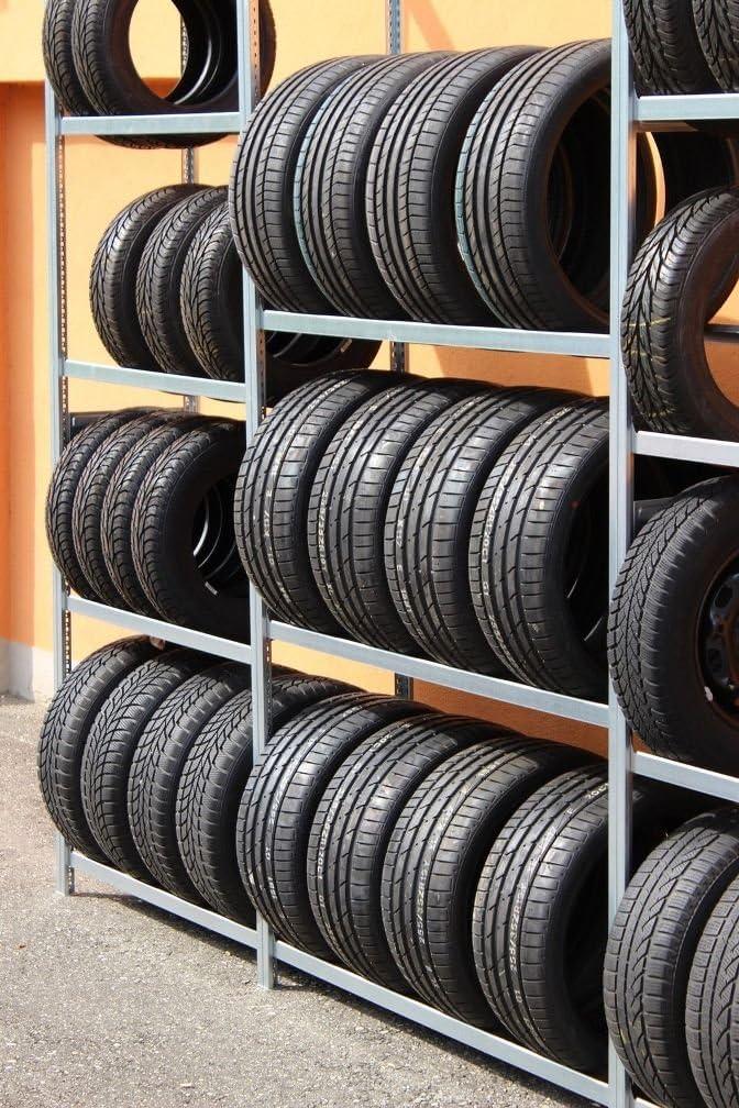 Reifenregal Für Mind 30 Reifen Räder Lagerung Höhe 2 M Breite Länge 2 66 M Baumarkt