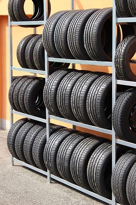 Estantería para cubiertas Mind. 30 Neumáticos/Ruedas almacenar.