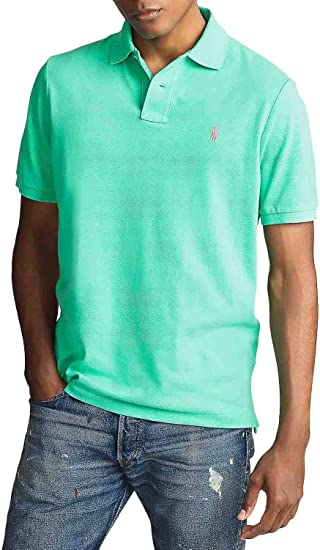 Polo Ralph Lauren Basic Verde para Hombre: Amazon.es: Ropa y ...