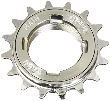 Sporting Goods New Bmx 16t Steel Single Speed Rear Cog