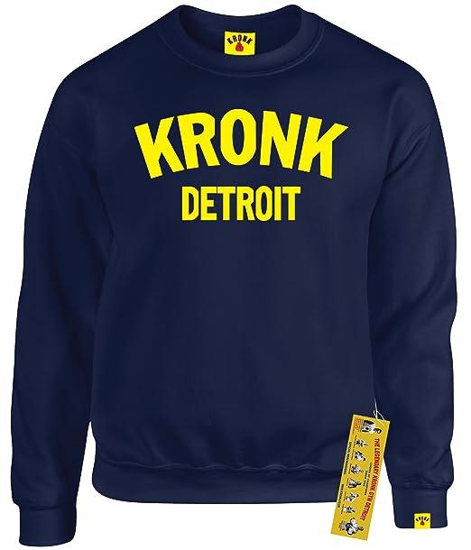 KRONK Guantes de Boxeo de Detroit - Sudadera para Hombre Klitschko Hearns: Amazon.es: Ropa y accesorios