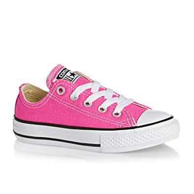 Converse Chuck Taylor All Star Seasonal Ox Junior Girls Trainer Mod Pink   Amazon.co.uk  Shoes   Bags ff5365a5a931c