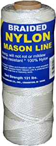 T.W Evans Cordage 10-214 Number-21 Twisted Nylon Mason Line 185-Feet