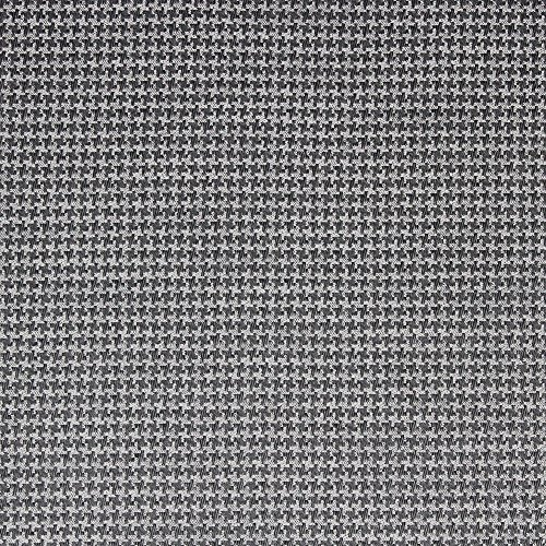 - Richloom Fabric Upholstery Drapery Ferrel Charcoal Houndstoot h Tapestery FF20