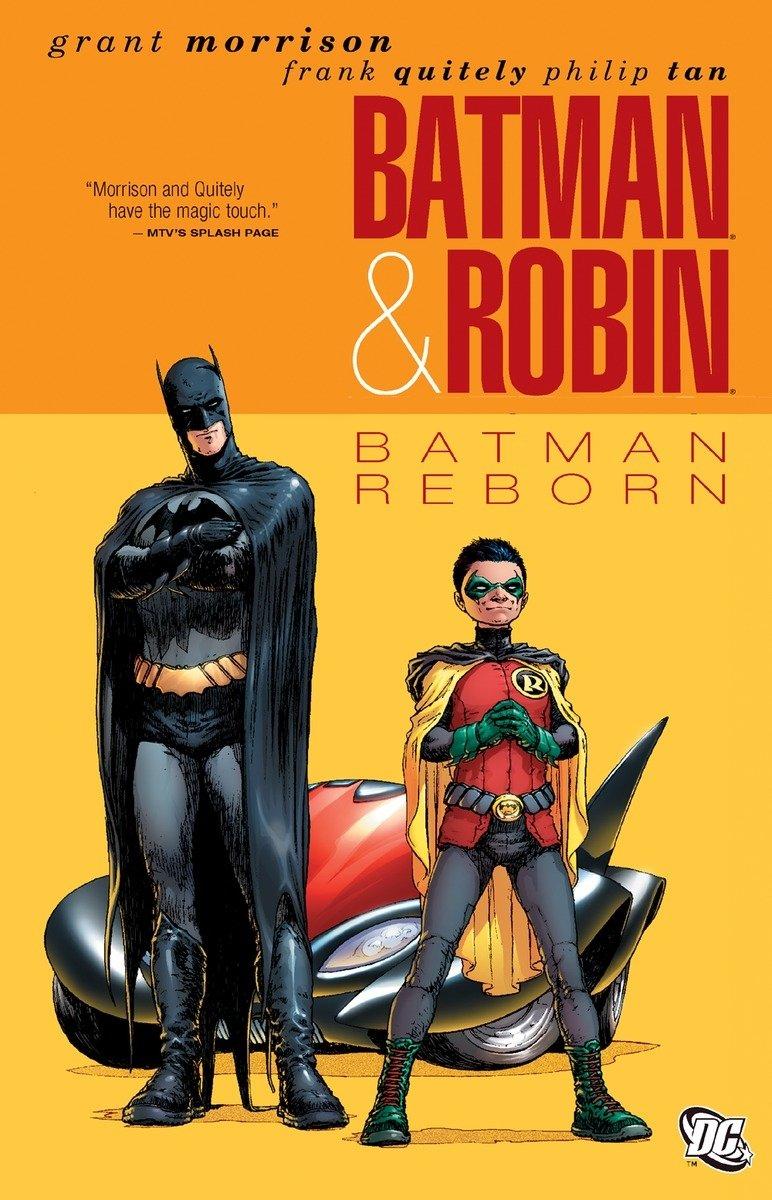 Batman Robin Vol Reborn Paperback product image