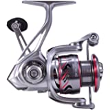 Cadence Fishing CS7 Spinning Reel | Durable Aluminum Frame | Carbon Composite Rotor & Side Plate | 9 + 1 Corrosion Resistant Bearings | Available in sizes 1000, 2000, 3000, & 4000