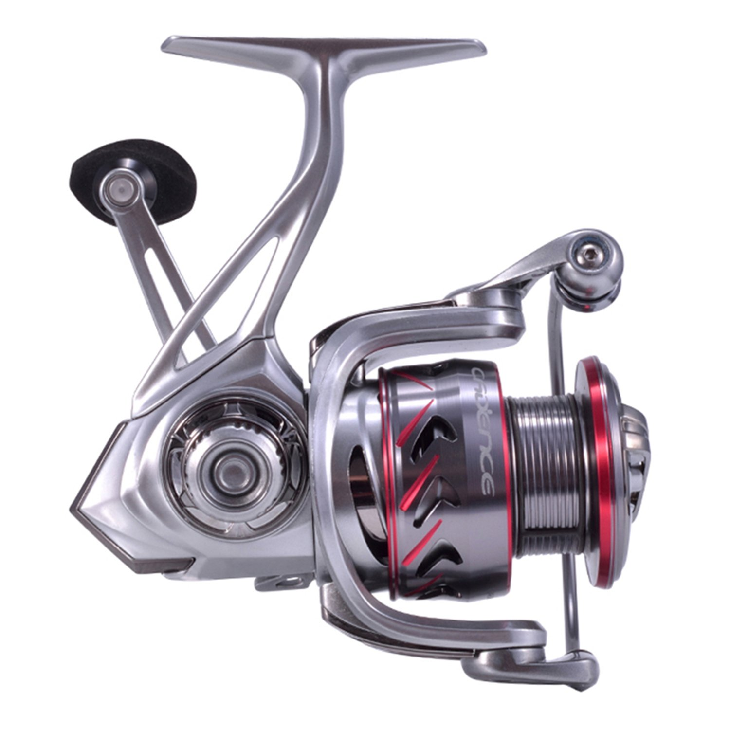 Cadence Spinning Reel, CS7 Strong Aluminum Frame Fishing Reel with 10 Durable Corrosion Resistant Bearings for Saltwater or Freshwater,Super Smooth Powerful Reel with 29LBs Max Drag 6.2 1 Spin Reel