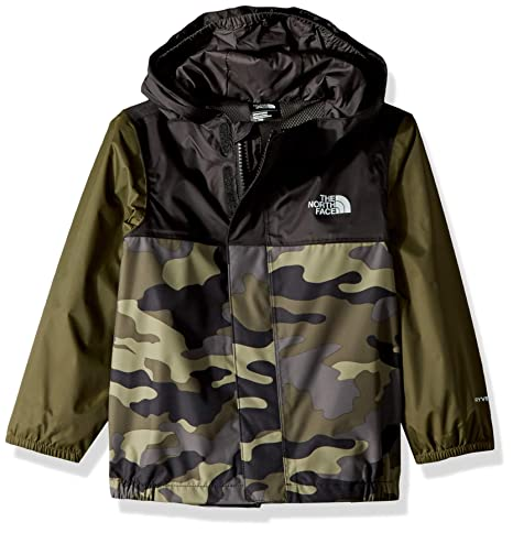 a4a85af953f0 The North Face Infant Tailout Rain Jacket - New Taupe Green Camouflage  Print - 3M  Amazon.in  Baby