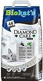 Biokats Diamond Care Classic Katzenstreu   Hochwertige Klumpstreu für Katzen mit Aktivkohle und Aloe Vera