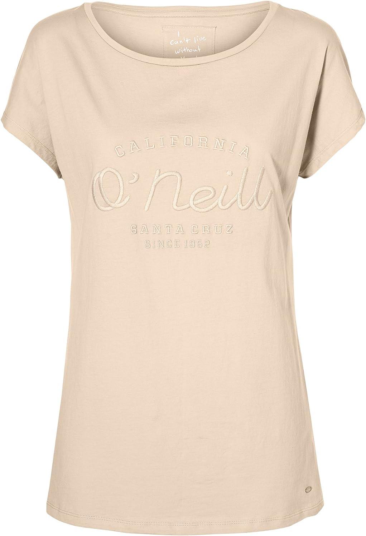 ONeill Camiseta básica con Marca para Mujer (Grande (L)) (Frutos Rojos): Amazon.es: Ropa y accesorios
