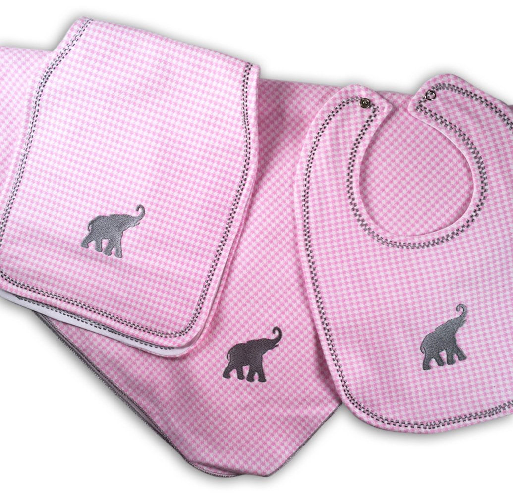 Gift For Baby Alabama Crimson Tide Nursery Bundle Pink